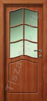 felül üveges Tisza beltéri ajtók