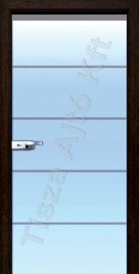 üveg belső ajtók T08