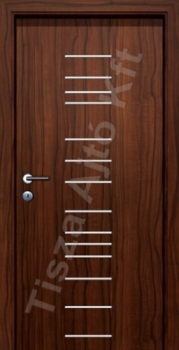 króm csíkos ajtó