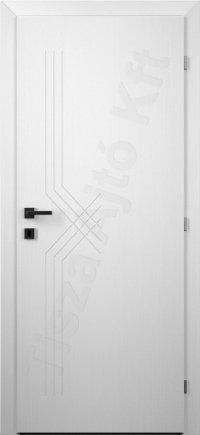 Festett fehér beltéri ajtó 62. minta