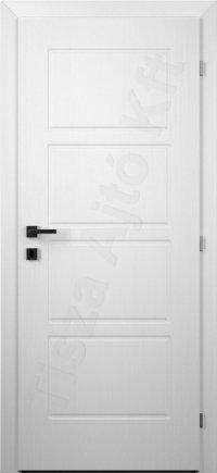Festett ajtó fehér 102.