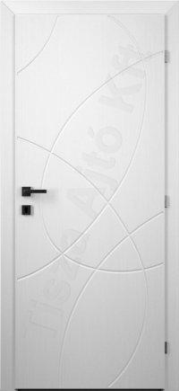 Festett fehér ajtó 122.