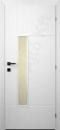 Festett belső ajtó 128. minta üveges