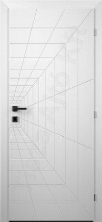 Fehér festett ajtó v6. típus