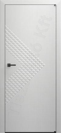 Fehér festett ajtó deep 12.1. típus