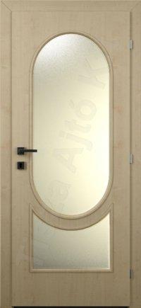Laminált ajtó MDF 20. minta üveges kialakítás