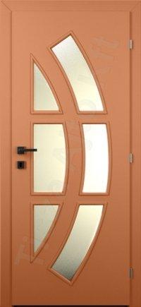 Laminált ajtó MDF 31. minta üveges kialakítás