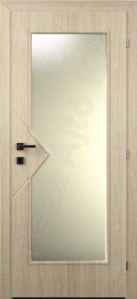Vákuumfóliás ajtó 90. kialakítás üvegezett