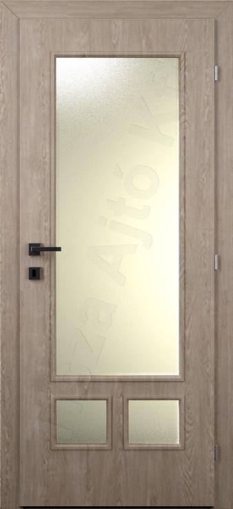 Laminált ajtó 4. minta üvegezett