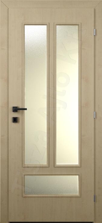 Laminált ajtó 11. típus üveges