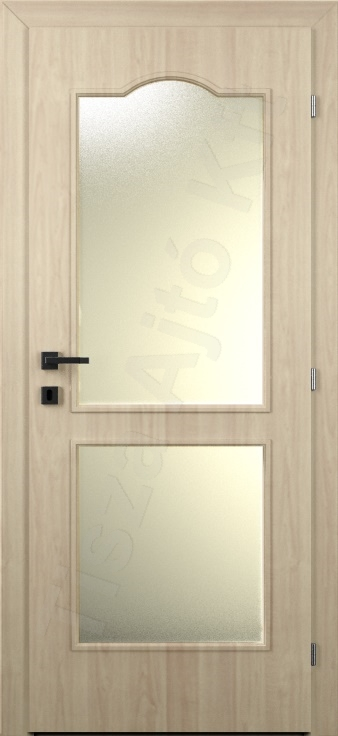 Laminált ajtó 18. kialakítás üvegezett