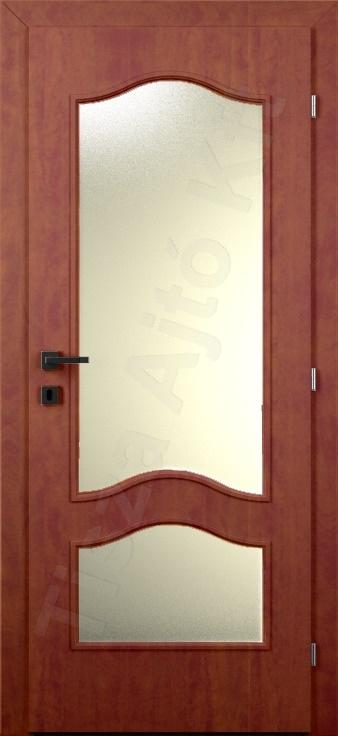 Laminált ajtó 22. minta üvegezett