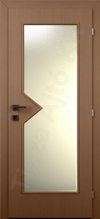 Laminált belső ajtó 47. típus üveges