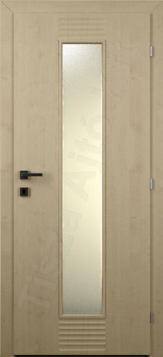 Vákuumfóliás ajtó 83. típus üveges