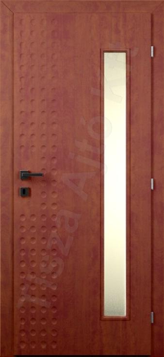 Vákuumfóliás ajtó 94. minta üvegezett