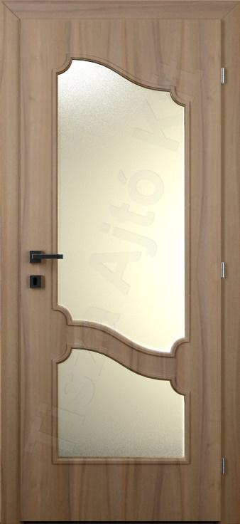 Vákuumfóliás ajtó 108. kialakítás üvegezett