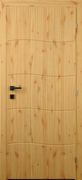 Vákuumfóliás beltéri ajtó 109. minta
