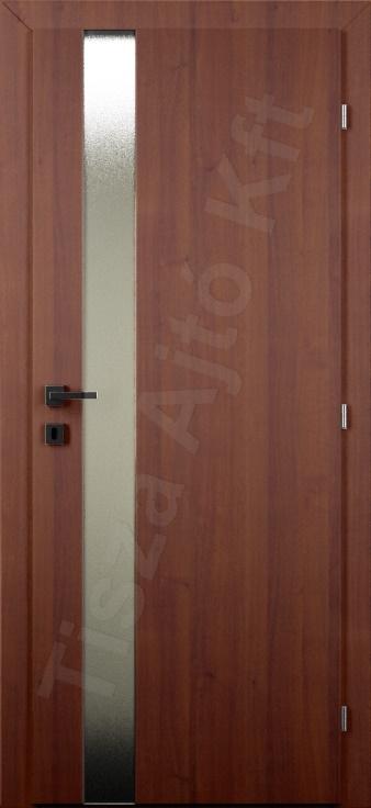 Vákuumfóliás belső ajtó 112. minta üvegezett