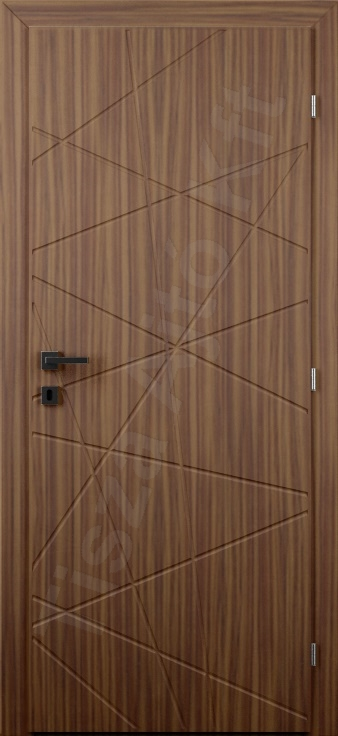 Vákuumfóliás beltéri ajtó 127. minta